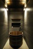 Stanza da bagno del classico di Moder Fotografie Stock