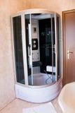Stanza da bagno dell'hotel Fotografia Stock Libera da Diritti
