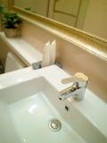 Stanza da bagno della lavata Immagini Stock