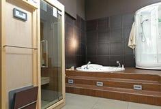 Stanza da bagno della stazione termale Fotografia Stock Libera da Diritti