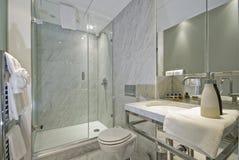 Stanza da bagno di marmo Fotografia Stock