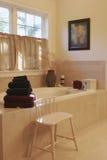 Stanza da bagno interna domestica Fotografia Stock