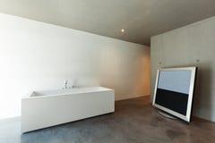 stanza da bagno interna e moderna Fotografie Stock Libere da Diritti