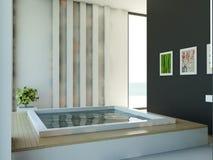 Stanza da bagno moderna Fotografie Stock Libere da Diritti