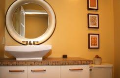 Stanza da bagno moderna Fotografia Stock