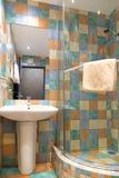 Stanza da bagno moderna Fotografie Stock