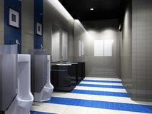 Stanza da bagno moderna Immagine Stock