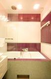 Stanza da bagno nella casa Fotografie Stock Libere da Diritti