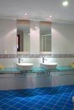 Stanza da bagno operata Fotografie Stock Libere da Diritti