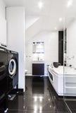 Stanza da bagno pulita moderna Immagine Stock Libera da Diritti