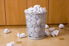 Stanza dei rifiuti Immagini Stock Libere da Diritti