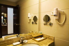 stanza del bagno Fotografie Stock Libere da Diritti