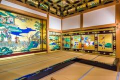 Stanza del castello di Kumamoto fotografia stock