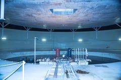 Stanza del controllo della pressione di biosfera 2 immagini stock