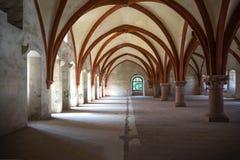 Stanza del dormitorio in un monastero Immagine Stock Libera da Diritti