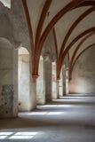 Stanza del dormitorio in un monastero Fotografie Stock Libere da Diritti