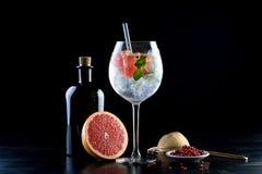 Stanza del fondo delle bevande delle bevande dei cocktail per testo Immagine Stock