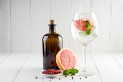 Stanza del fondo delle bevande delle bevande dei cocktail per testo Fotografie Stock Libere da Diritti