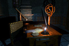 Stanza del Galileo Fotografie Stock