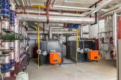 Stanza del generatore Fotografia Stock