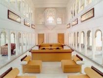 Stanza del palazzo, Ragiastan, India Immagini Stock Libere da Diritti