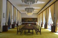 Stanza del salone in palazzo presidenziale Ho Chi Minh Fotografie Stock Libere da Diritti