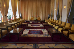 Stanza del salone in palazzo presidenziale Ho Chi Minh Immagini Stock Libere da Diritti