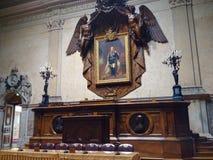Stanza del senato Fotografia Stock Libera da Diritti