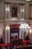 Stanza del senato di stato di California Fotografia Stock