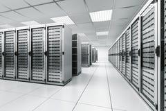 Stanza del server Immagine Stock