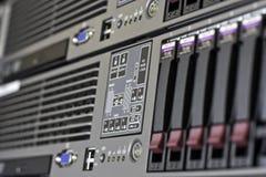 Stanza del server Fotografia Stock