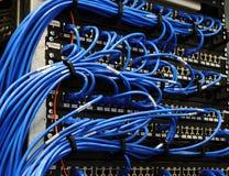 Stanza del server con le strumentazioni Fotografie Stock