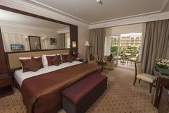 Stanza dell'albergo di lusso immagini stock libere da diritti