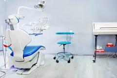 Stanza dell'esame del dentista Fotografie Stock