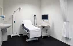 Stanza dell'esame di ultrasuono Fotografia Stock Libera da Diritti