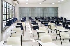 Stanza dell'esame per lo studente Class di grado del ` s del celibe fotografia stock libera da diritti