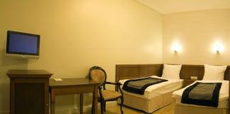 stanza dell'interiore dell'hotel Fotografia Stock Libera da Diritti