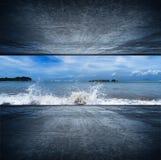 Stanza dell'oceano Fotografia Stock