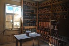 Stanza dell'urna a Natzweiler Fotografia Stock Libera da Diritti