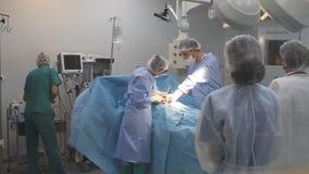 Stanza della chirurgia stock footage