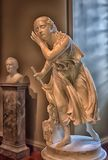 Stanza della galleria nel National Gallery di arte, Washington, DC Fotografia Stock Libera da Diritti