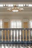 Stanza della stazione ferroviaria Immagini Stock Libere da Diritti