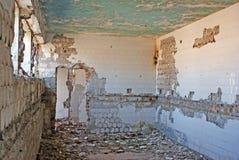 Stanza demolita Fotografia Stock