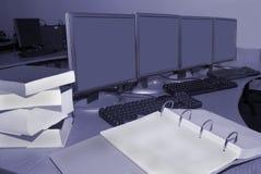 Stanza di addestramento di calcolatori Immagini Stock