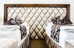 Stanza di albergo di lusso Fotografie Stock