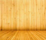 Stanza di bambù Fotografie Stock
