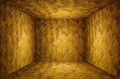 Stanza di bambù del tessuto Fotografie Stock Libere da Diritti