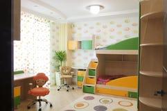 stanza di bambini fotografia stock