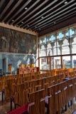 Stanza di conferenza all'università di Venezia Fotografia Stock Libera da Diritti