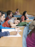 Stanza di conferenza degli studenti di college Fotografie Stock Libere da Diritti